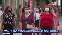 Threat of mask mandate looms as cases increase