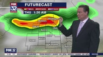 Morning forecast for Chicagoland on July 27th