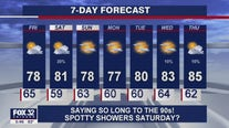 6 p.m. forecast for Chicagoland on July 29