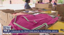 'Cradles To Crayons' stuffs 60k of backpacks for students in Chicago