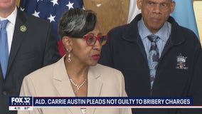 Chicago Ald. Carrie Austin pleads not guilty to bribery charges