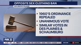 Elk Grove Village repeals decades-old opposite sex clothing ban