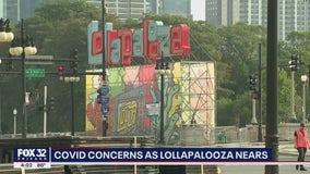 COVID concerns as Lollapalooza nears