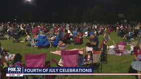 Families pack Westmont's Fourth of July extravaganza