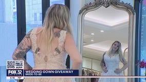 Chicago bridal shop gives away free gowns to healthcare workers, military members