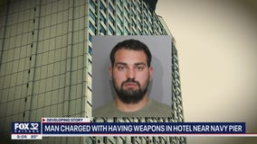 New details emerge in case of Iowa man with guns in Chicago hotel room