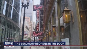 Iconic Chicago restaurant The Berghoff reopens