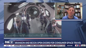 Branson and Bezos open doors for consumer space travel
