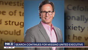 Search continues for missing United Airlines executive from Elmhurst