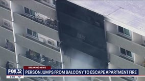 Apartment fired erupts in Richton Park