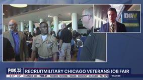 RecruitMilitary Chicago veterans job fair