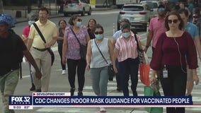 Illinois adopts new CDC guidelines: Vaccinated should mask indoors, as should K-12 schools