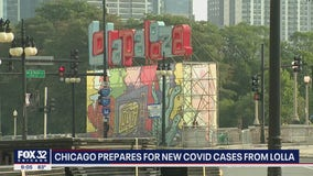 Chicago's top doctor warns new COVID cases could break out from Lollapalooza