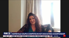 Naperville couple to compete in prolific hot dog eating championship