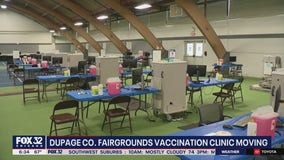DuPage County Fairgrounds vaccination clinic relocating to Wheaton