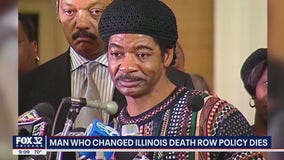 Exonerated Illinois death row inmate dies in Chicago