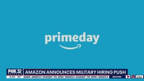 Amazon plans to hire and train 100,000 veterans and military spouses