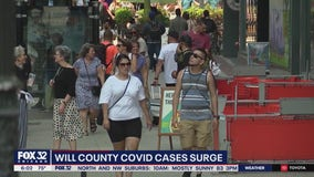 Will County sees 'substantial' risk for virus transmission as cases surge