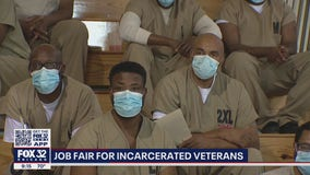 Cook County Jail holds resource fair for inmates who are veterans