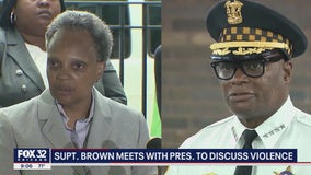 Lightfoot, top cop welcome help from Biden on violence; federal agents to begin work soon
