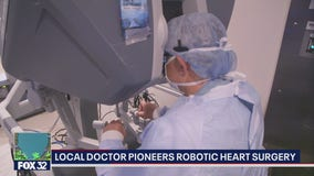 New type of heart surgery performed in Chicago less invasive