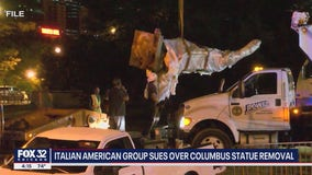 Lawsuit seeks return of Christopher Columbus statue to Chicago park