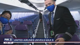 Inside United Airlines new Max 8
