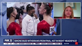 Simone Biles withdraws from final, not in right 'headspace'