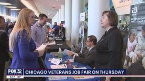 Veteran job fair to take place in Chicago Thursday