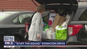 'Stuff the Squad' donation drive in Wheaton