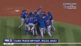 Cubs fans say goodbye to core of 2016 championship team: 'Hard pill to swallow'