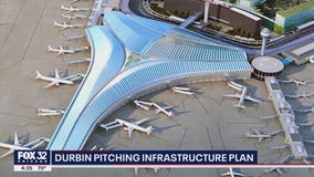 Illinois Senator Durbin pitching infrastructure plan