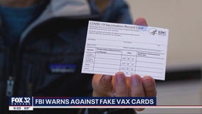 Fake vaccinations cards could warrant up to 5 years in prison