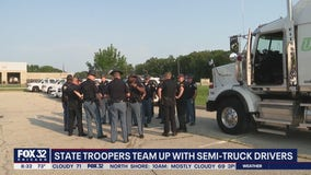 'Trooper in Trucks' program aims to curb reckless drivers in Indiana