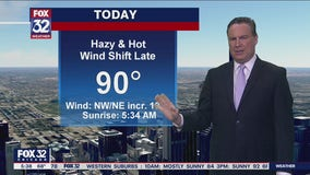 Morning forecast for Chicagoland on July 20th