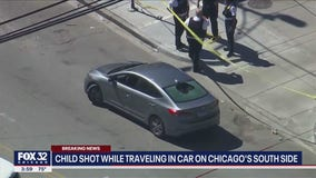 Girl, 9, in critical condition after being shot in head on Chicago's South Side