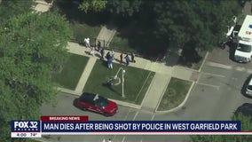 Man dies after being shot by police in West Garfield Park