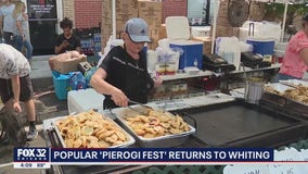 Pierogi Fest kicks off in Whiting, Indiana