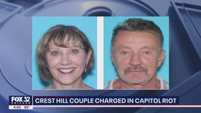 Crest Hill couple charged in Capitol riot