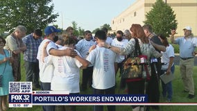 Portillo's employees return to work after strike
