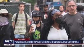 Possible restrictions in Chicago - again - if COVID surge continues