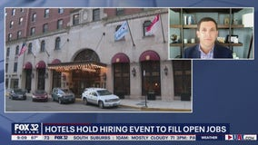 Hotels hold hiring events to fill open jobs