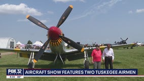 Wisconsin aircraft show features 2 Tuskegee Airmen