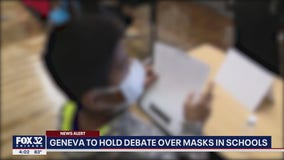 Geneva to hold debate over masks in schools