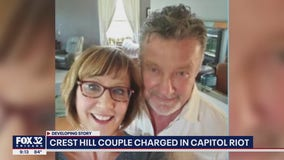 Illinois couple charged in US Capitol riot