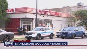 Man killed in Woodlawn shooting at Family Dollar store
