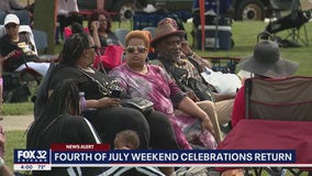 Thousands celebrate Fourth of July weekend in Matteson