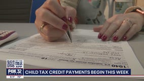 Families to begin receiving child tax credits this week