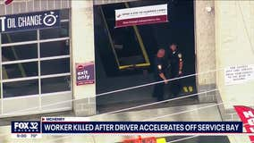Jiffy Lube worker in McHenry killed after driver accelerated off service bay