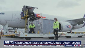 American Airlines ships millions of COVID-19 vaccines from Chicago to Guatemala